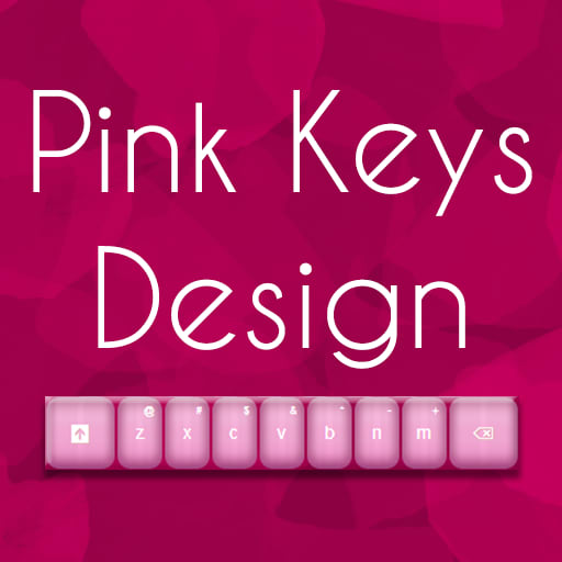 Keyboard Design Pink App
