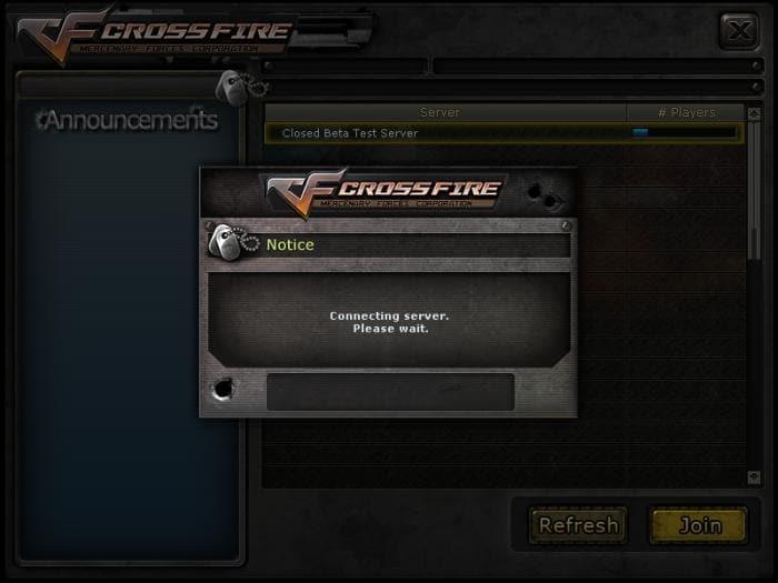 CROSSFIRE - Conectando ao servidor