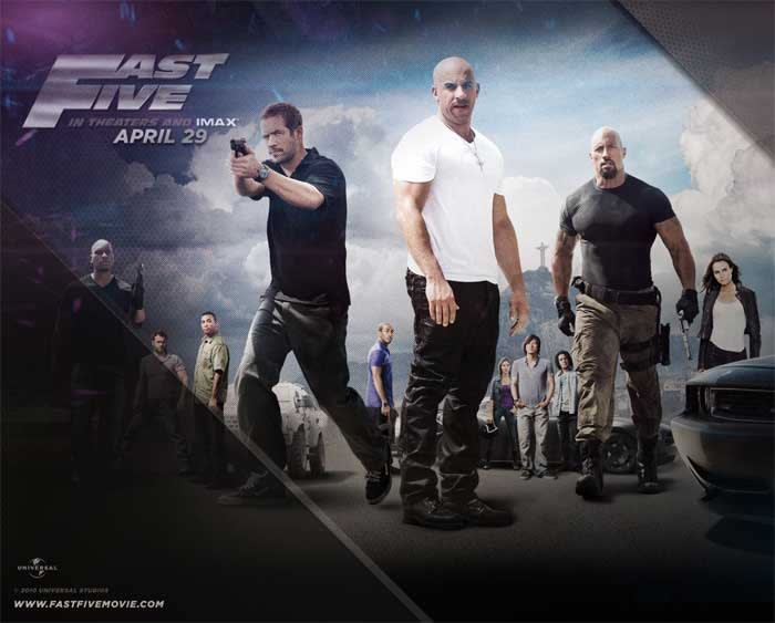 Fast & Furious 5 Wallpaper