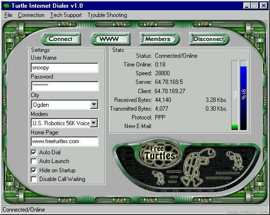 Internet Dialer