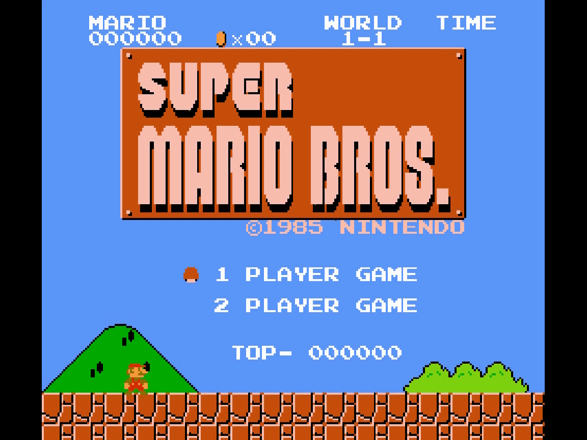 Super Mario Bros. (NES) Screensaver