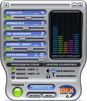 DFX (Real Player)