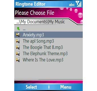 VITO Ringtone Editor