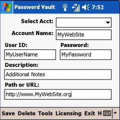 PasswordVault