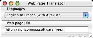 Web Page Translator