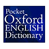 Pocket Oxford English Dictionary and MSDict Viewer