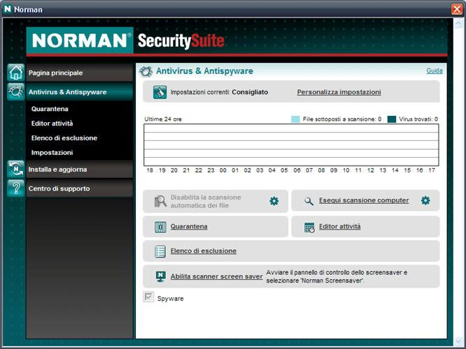 Norman Antivirus and Antispyware