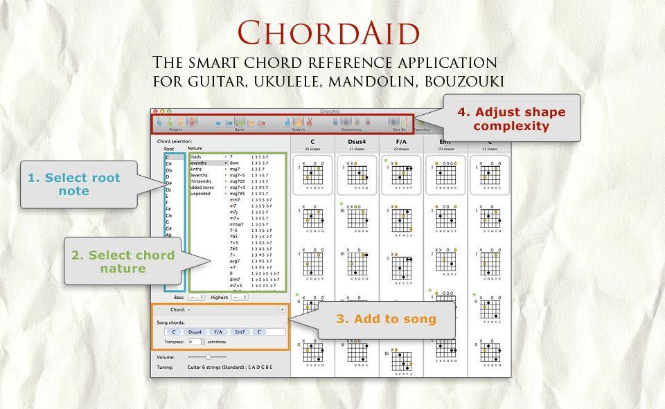 ChordAid for Mac