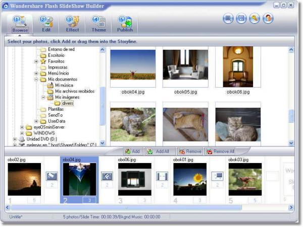 wondershare flash slideshow builder - download, Powerpoint templates