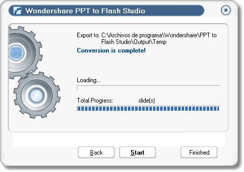 Wondershare PPT to Flash Studio
