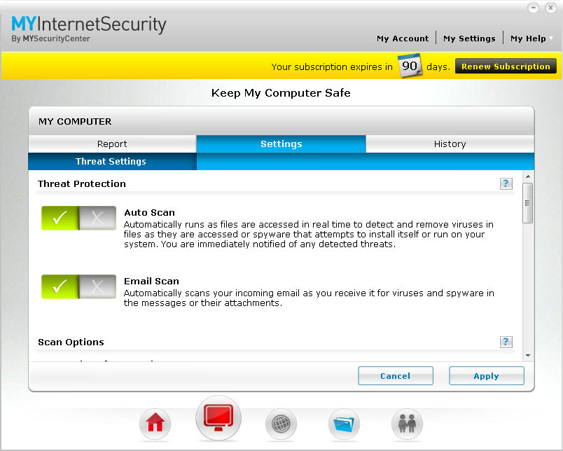 MyInternetSecurity Silver