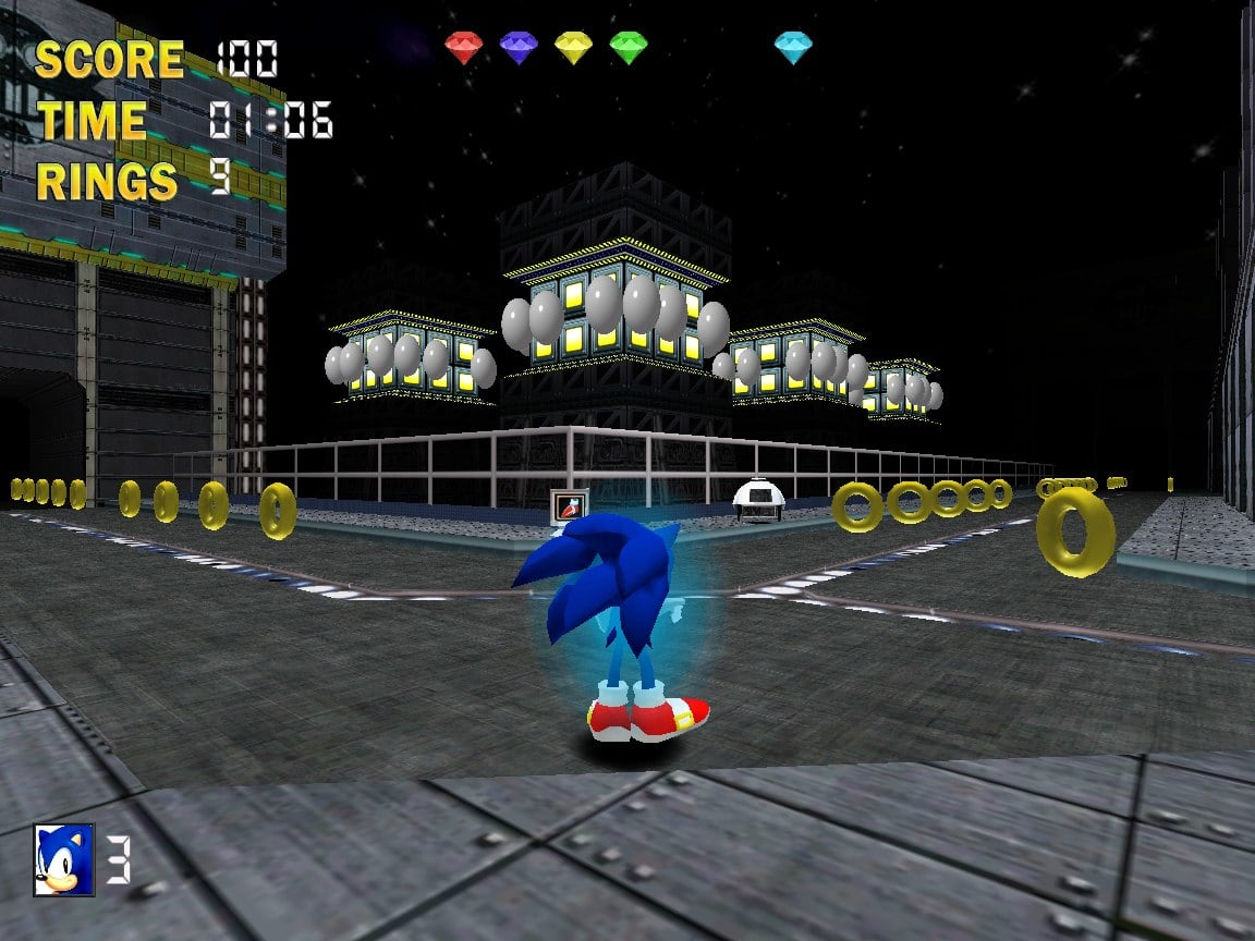 Sonic The Hedgehog 3D  Descargar