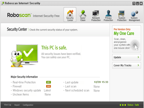 Roboscan Internet Security Free (64bit)