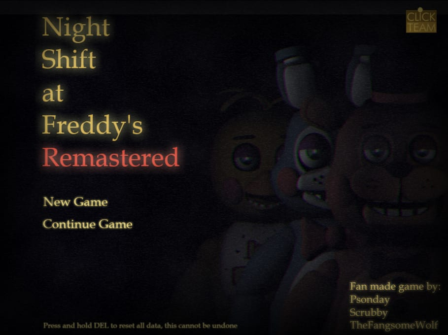 Night Shift at Freddy's: Remastered