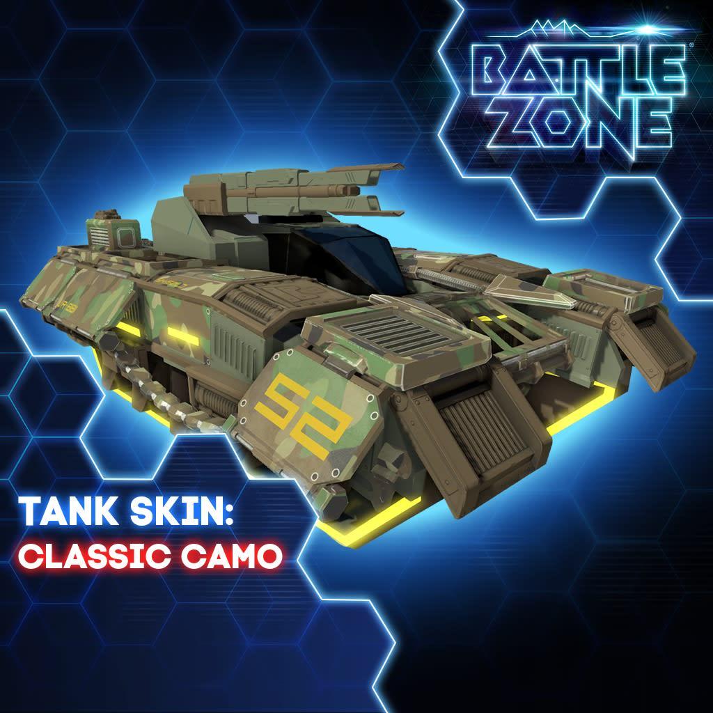 Classic Camo Tank Skin PS VR PS4