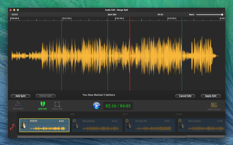 Audio Edit Pro - Merge Split Editor Lite