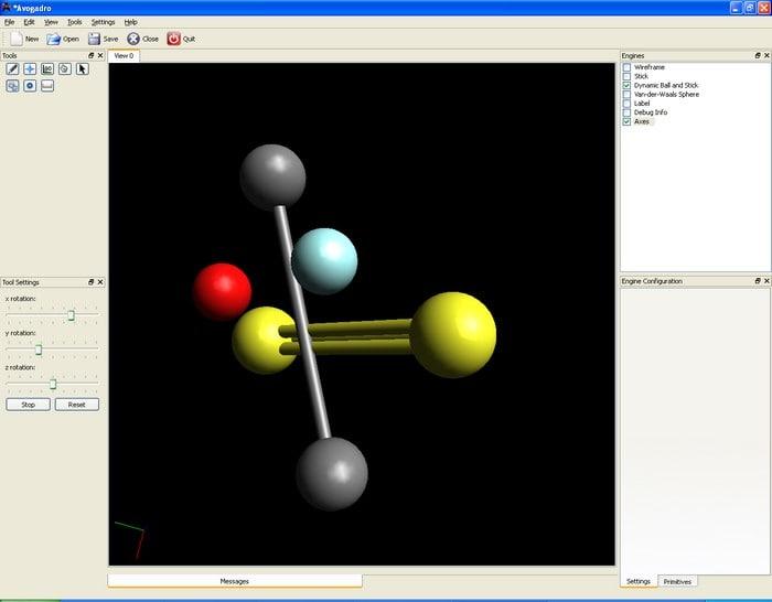Avogadro descargar for Programa para dibujar en 3d