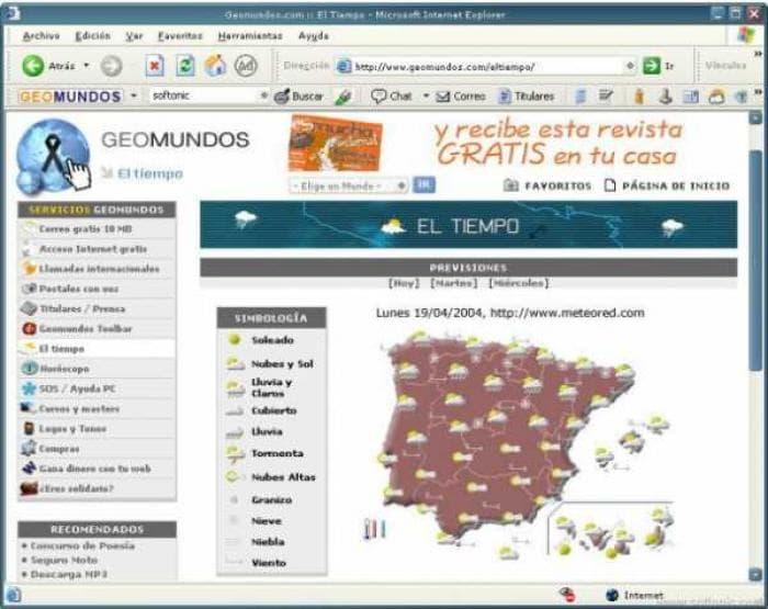 Geomundos Toolbar