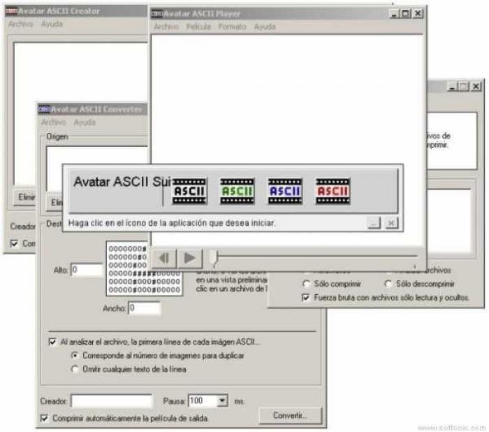 Avatar ASCII Suite