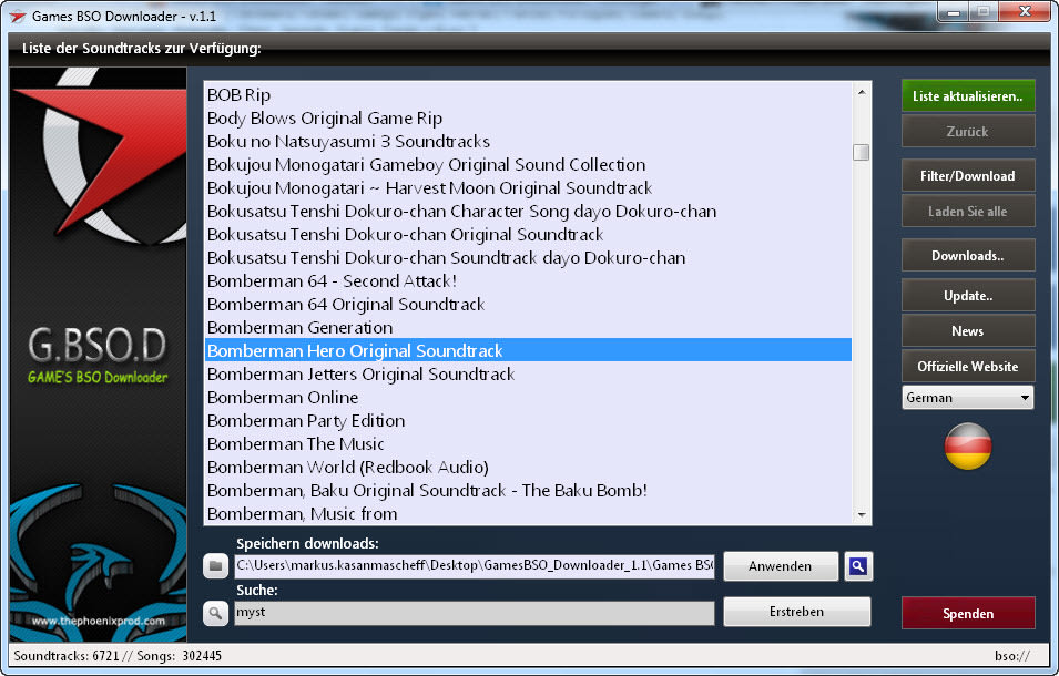 Games BSO Downloader