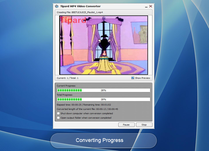 Tipard MP4 Video Converter