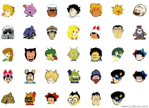 Dr. Slump Icons
