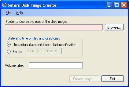 Saturn Disk Image Creator