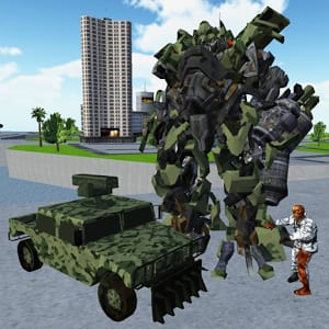 X Ray Robot : Zombie Offroad 1.2