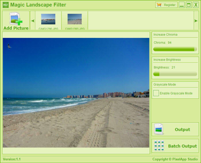 Magic Landscape Filter