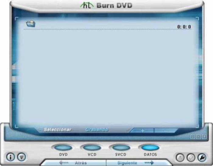 HT Burn DVD