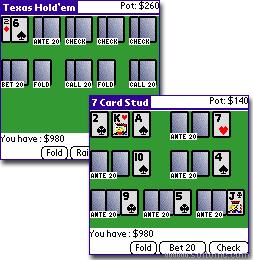 Poker for Palm OS
