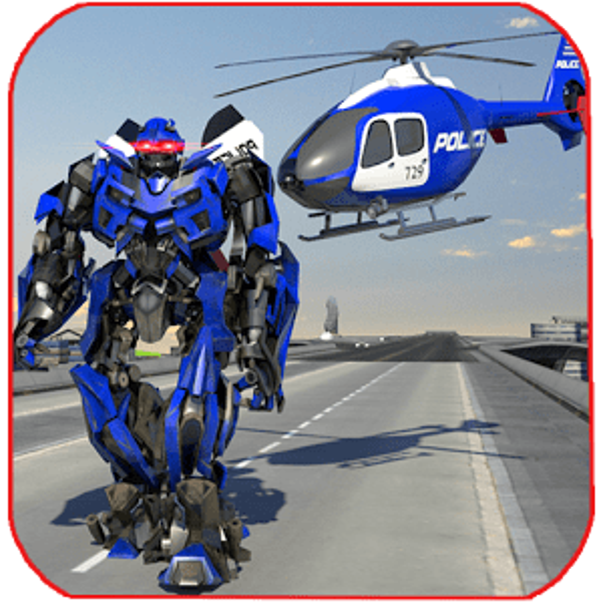 Police War Robot Superhero 1.1