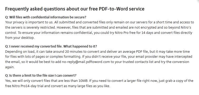 nitro convert pdf to word online