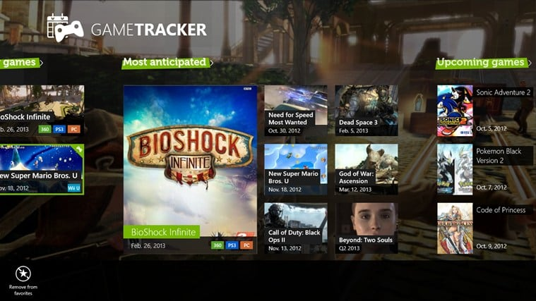 GameTracker for Windows 10