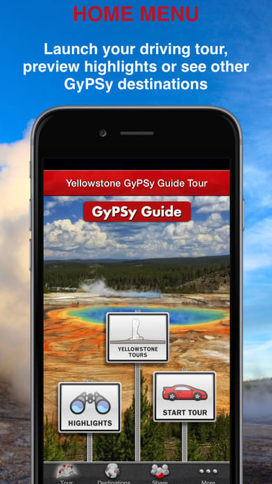 Yellowstone GyPSy Driving Tour