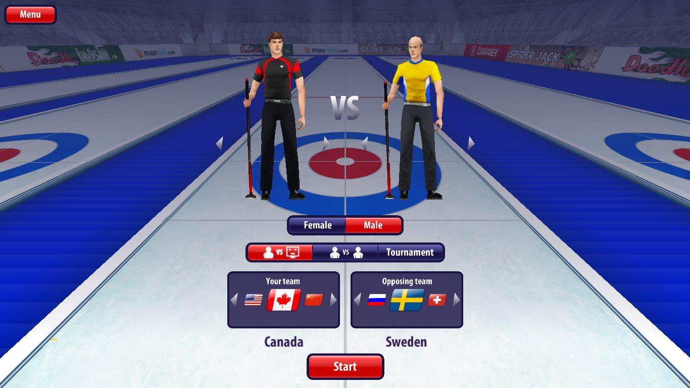 Curling3D HD