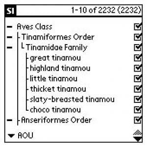 Species Inventory