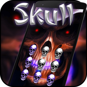 Skull AppLock Theme 1.0.0