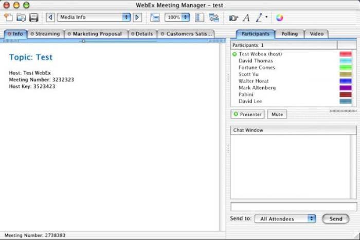 WebEx Player