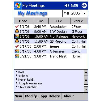 My Meetings