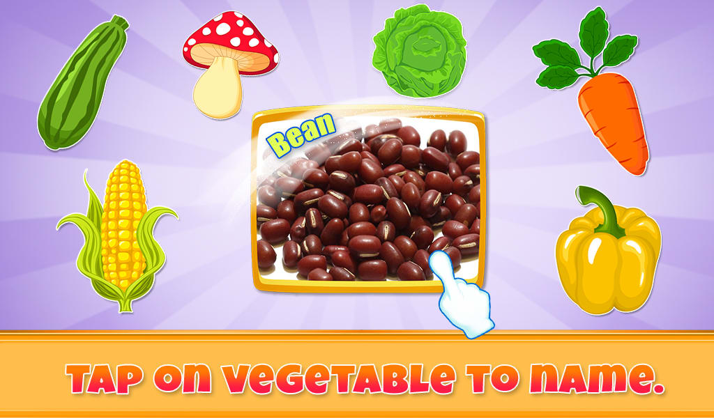 Real Vegetables For Kids