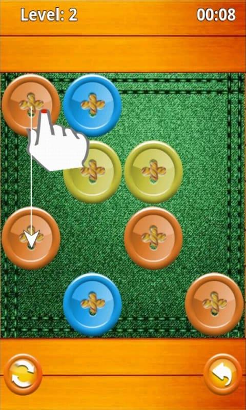 Buttons & Scissor