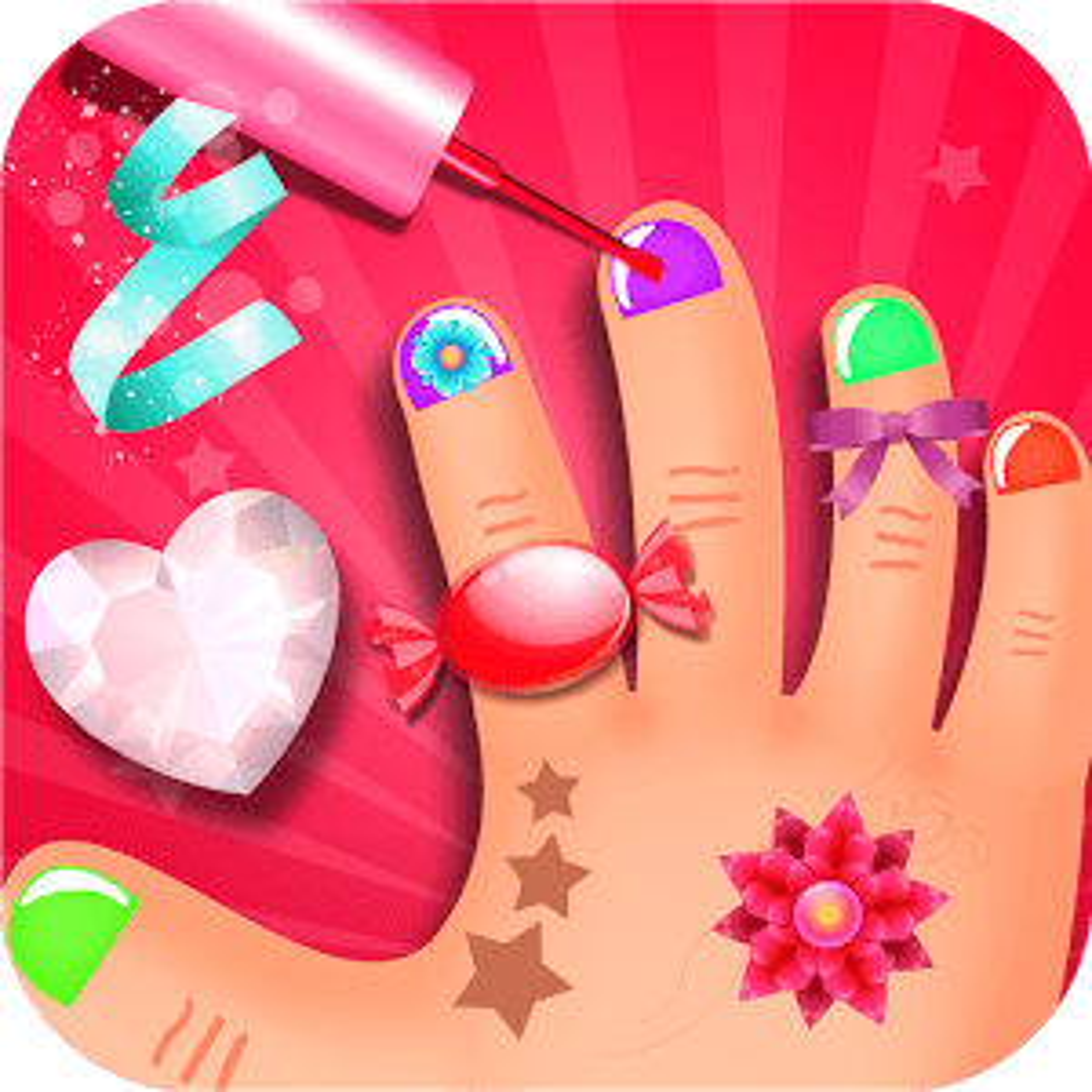 Niños Nail Art