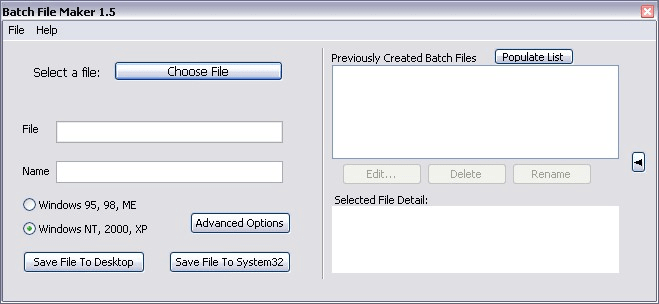 Batch File Maker
