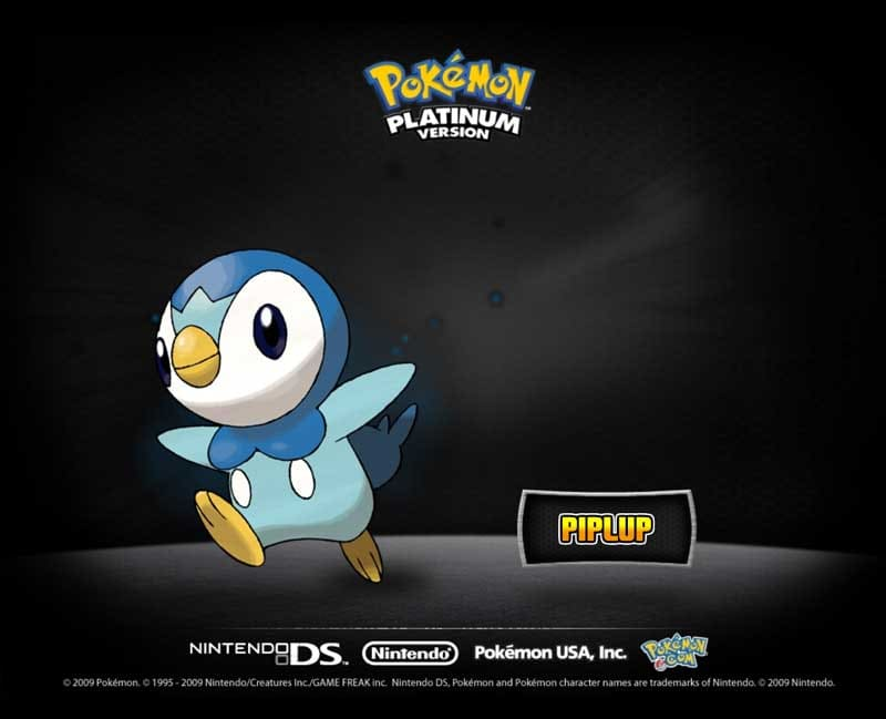 Ecrans de veille: Pokémon Platine