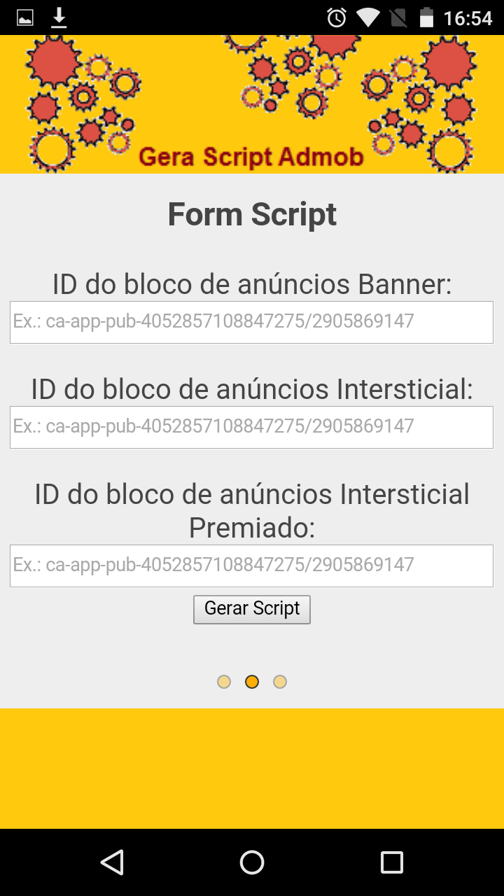 Gera Script Admob
