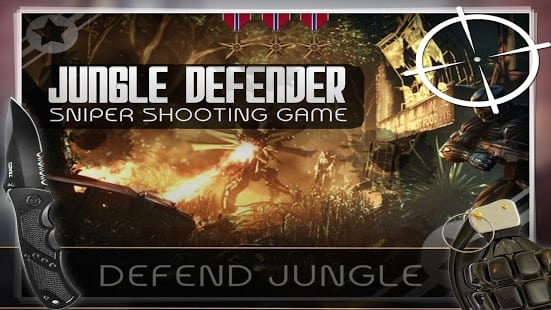 Defend Jungle: Sniper Shooting