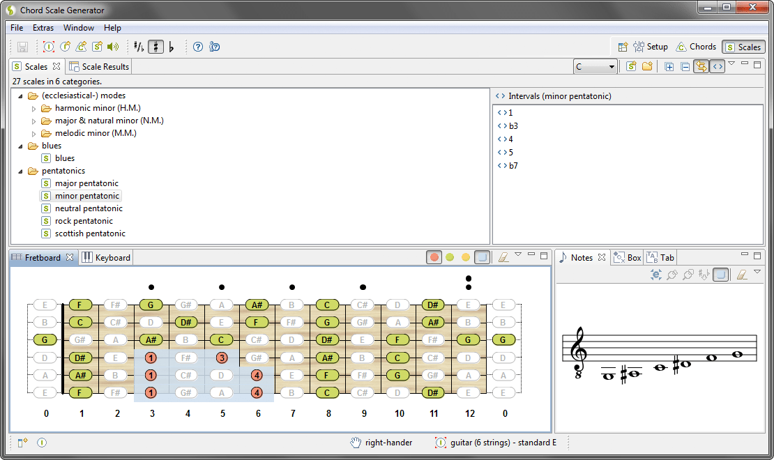 Chord Scale Generator