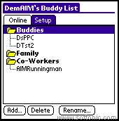 AOL Instant Messenger ( AIM )