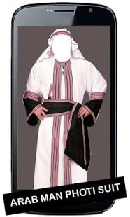 Arab Man Photo Suit New